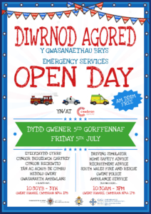 Emergency Services Open Day - Cwmbran