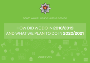 Improvement plan front cover - what we plan to do in 2020/2021