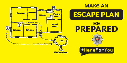 Make an escape plan